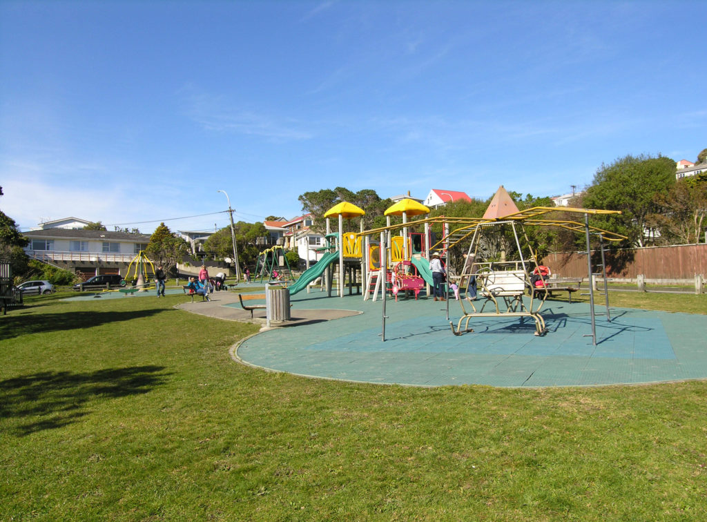 Playgrounds In Khandallah Wellington